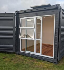 Off grid 10 ft container/ sleep-out / office