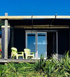 The 'Flax Pod' container cabin